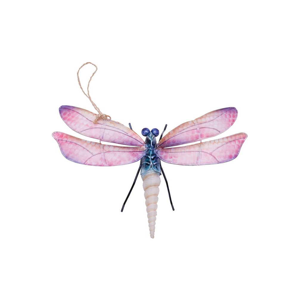 Dragonfly Christmas tree ornament made from seashells