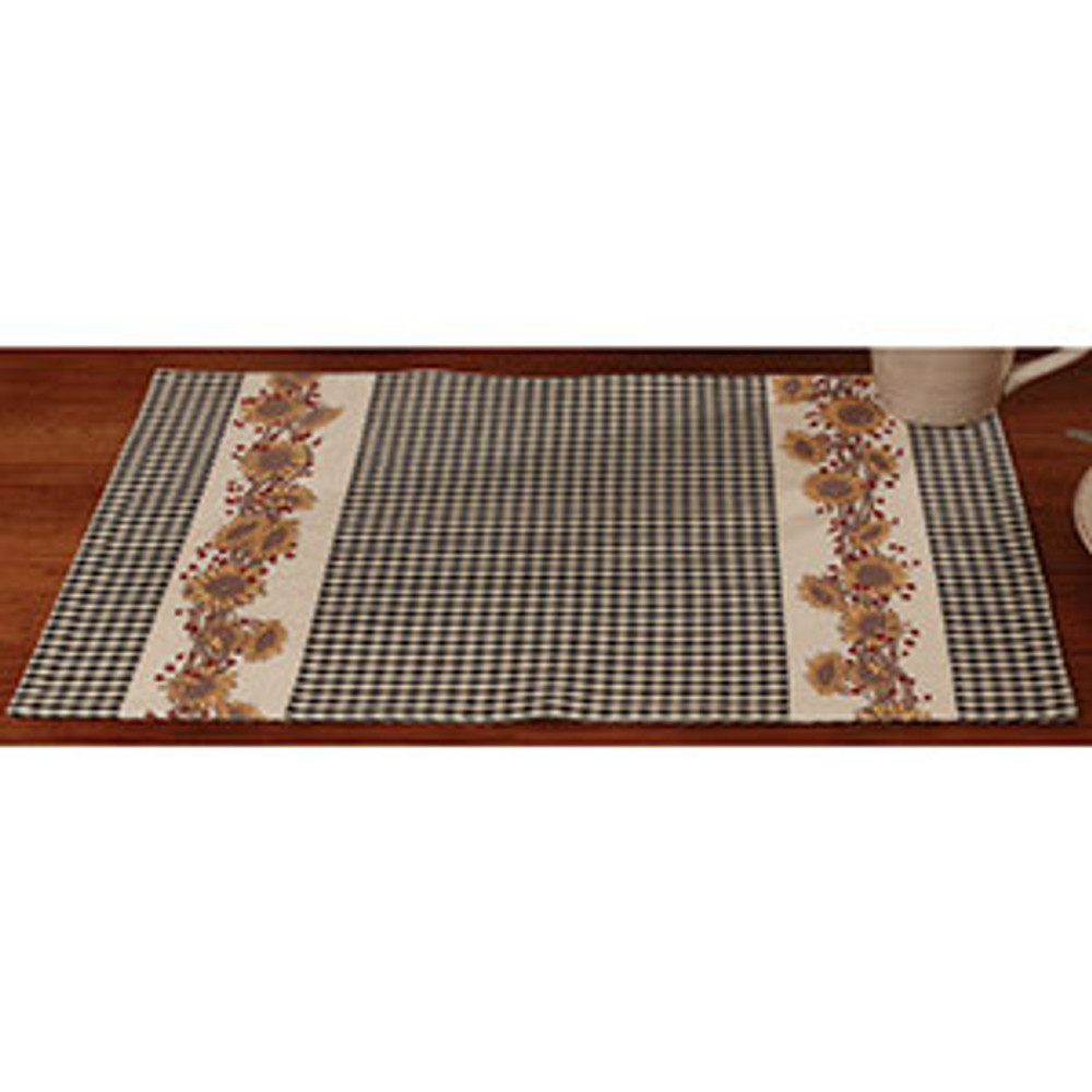Sunflower Berries Placemat