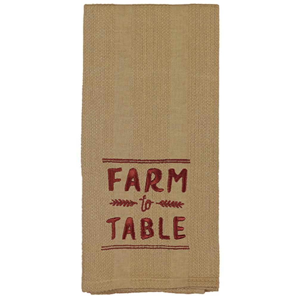 Farm to Table - Kitchen Towel