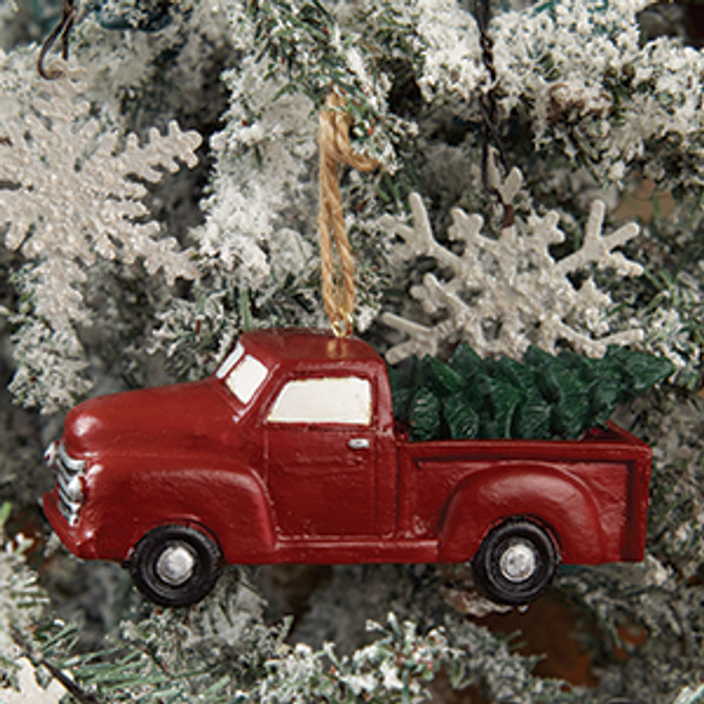 Red Truck Tree Ornament