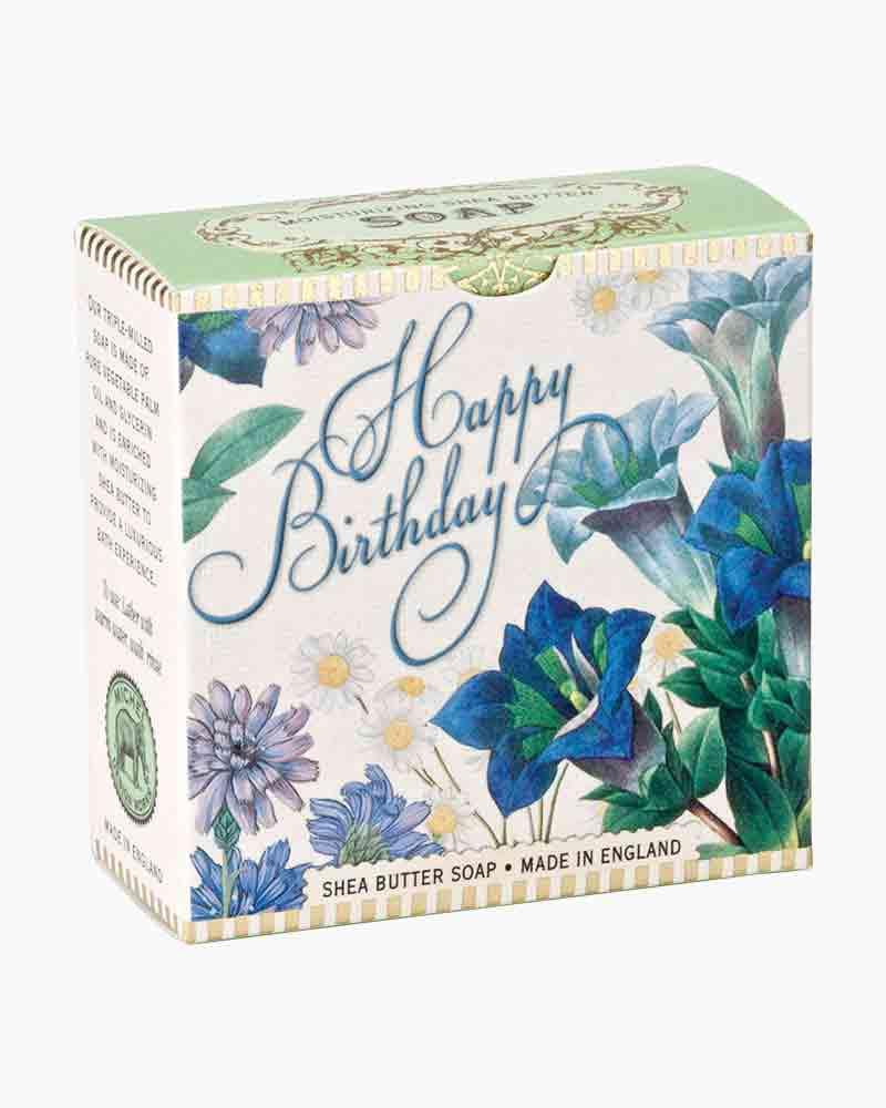 Birthday Blue A Little Soap