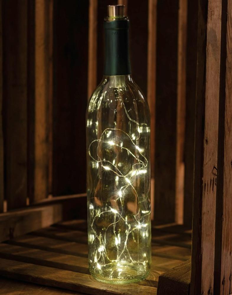 Wine Bottle Lights - White Twinkle