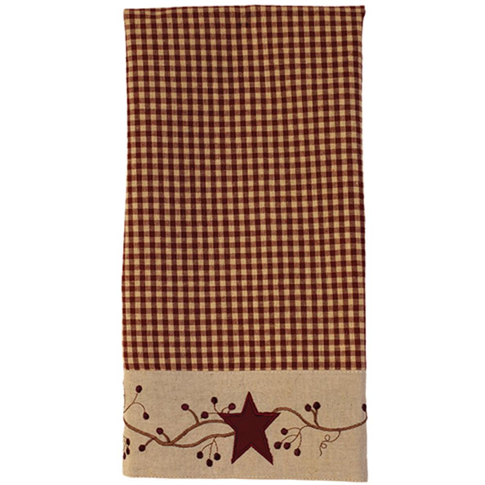 Stars 'N' Berries Border - Kitchen Towel