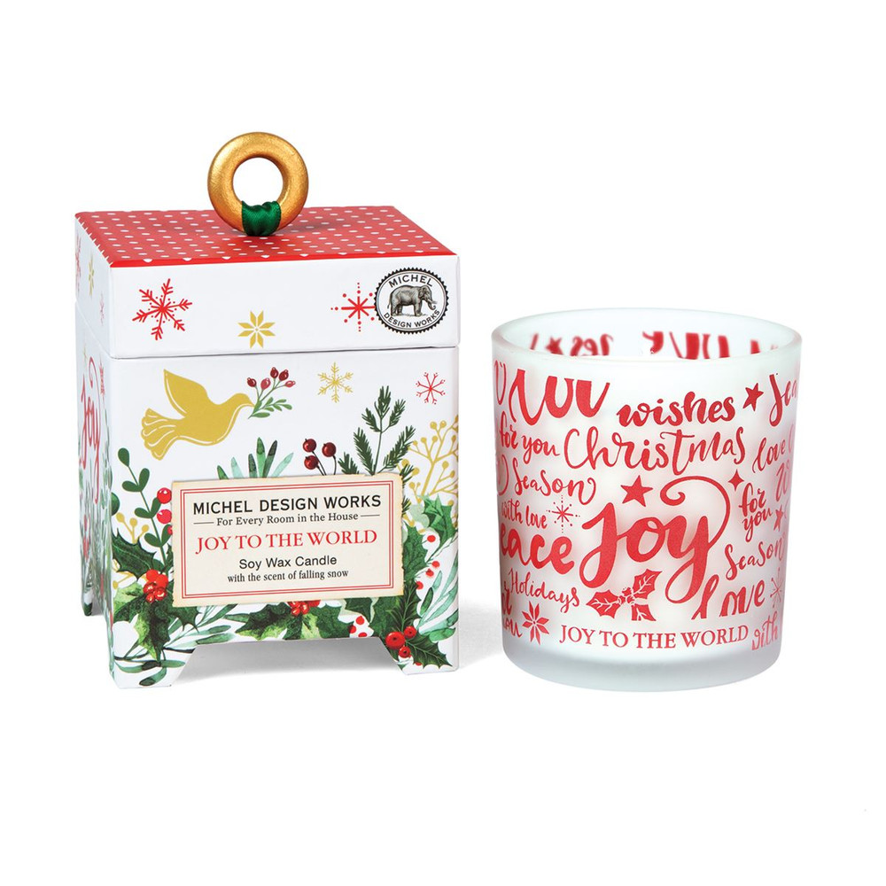 Joy to the World 6.5 oz. Soy Wax Candle