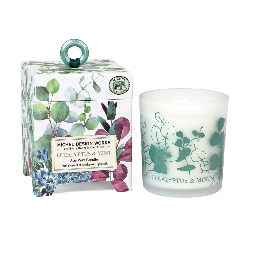 Eucalyptus & Mint 6.5 oz. Soy Wax Candle