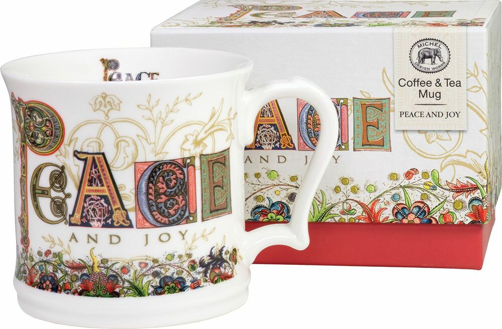 Coffee & Tea Mug - Peace and Joy