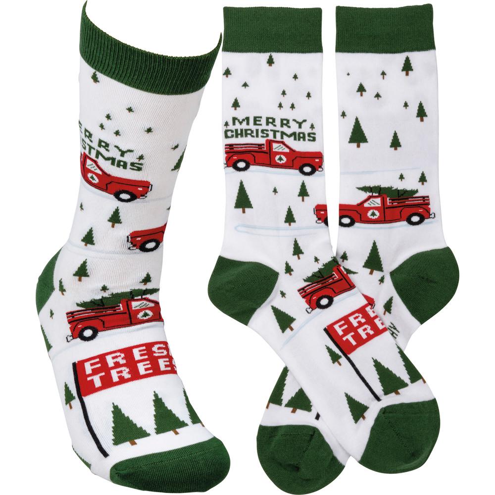 3 views of socks