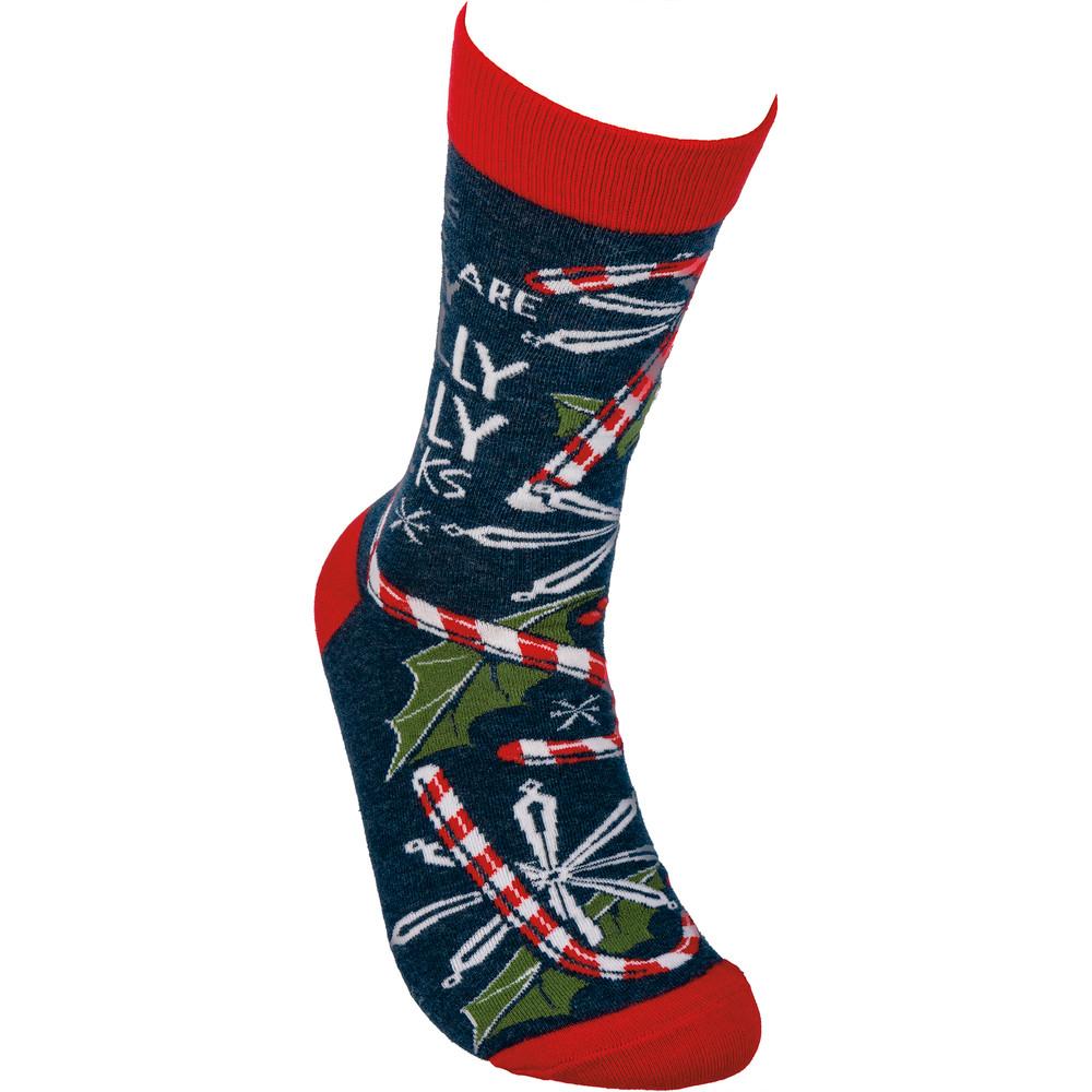 single view of sock
