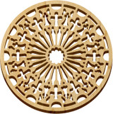 This is the approximate color of the Trivet Cathedral