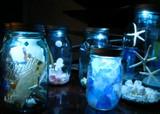Moon Shiner Mason Jar Lid Centerpieces