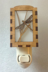 Village Craftsman Wooden Night Lights - Dragonfly