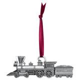 Moosalamoo Train Pewter Ornament