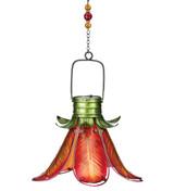 Solar Flower Lantern - Orange Lily
