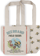 Market Tote - Bee Brand - Field Seeds