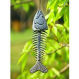 Fish Skeleton Wind Chime