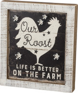 String Art - Our Roost Life Is Better On The Farm