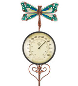Thermometer Stake - Dragonfly
