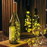 Wine Bottle Lights in Bottle