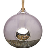 Ceramic Bird Feeder - Wheel