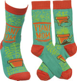 Socks - Plant Mom Grow Damn It