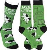 Socks - Live Like Someone Left The Gate Open