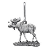 Moose Zipper Pull