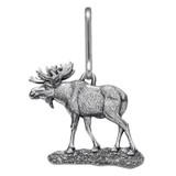 Moose Zipper Pull