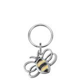 Bumblebee Pewter Keyring