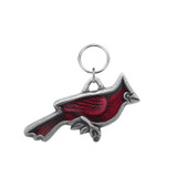 Cardinal Pewter Key Ring
