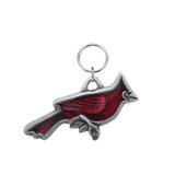 Cardinal Pewter Key Ring