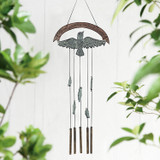 She Could Fly Bird and Tube Wind Chime