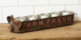 Farm Fresh Pig Candle Holder