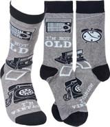 Socks - I'm Not Old I'm Vintage
