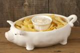 Party Pig Serving Bowl