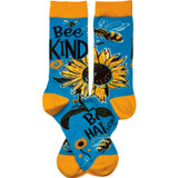 Socks - Bee Kind Bee Happy