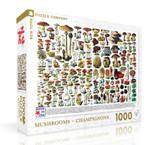 Mushrooms ~ Champignons Jigsaw Puzzle 1000 Piece