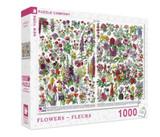 Flowers ~ Fleurs Jigsaw Puzzle 1000 Piece