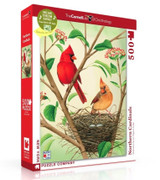 Northern Cardinals Jigsaw Puzzle 500 Piece
