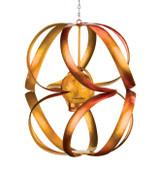 Hanging Solar Wind Spinner - Spiral