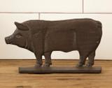 Iron Pig Shelf Sitter /  Doorstop