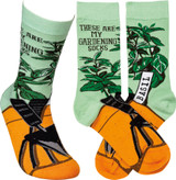 Socks - These Are My Gardening Socks