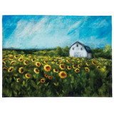 Dish Towel - Sunflowers