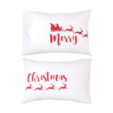 Merry Christmas Pillowcase Set