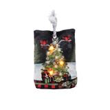 Christmas Tree Memories LED Door Stop