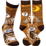 Socks - Whooo's Socks? They're Mine!