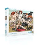 Dog Breeds Jigsaw Puzzle 1000 Piece