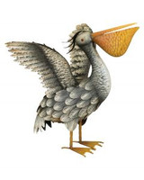 Pelican Decor - Wings Up