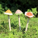 Mushroom Garden Stakes