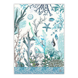 Ocean Tide Kitchen Towel