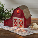 Red Barn Table Lamp, electric